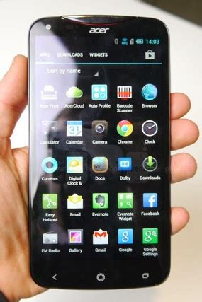 Harga HP Android: Harga HP Android Acer LIQUID S2